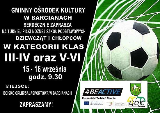 Turniej Piłki Nożnej Szkół Podstawowych