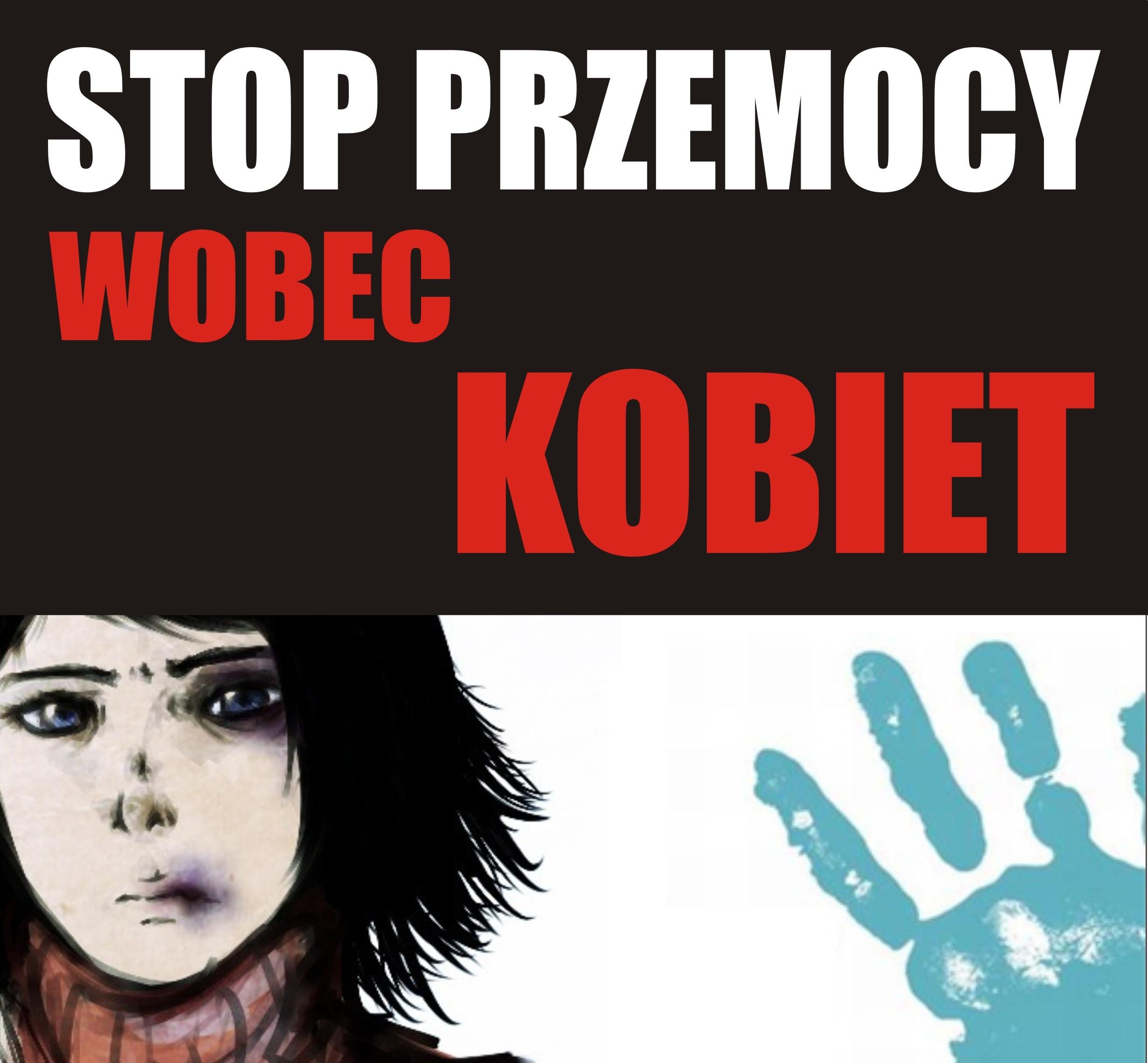 Stop przemocy wobec kobiet