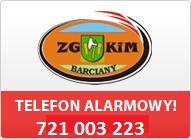 Telefon Alarmowy ZGKIM